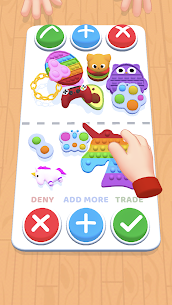 Fidget Toys Trading (MOD, Unlimited Money) For Android 4