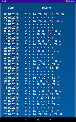 Keno BY  statistics 1.2.18 screenshots 11