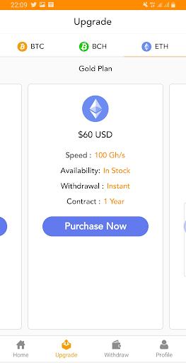 BitFunds - Crypto Cloud Mining  Screenshots 4