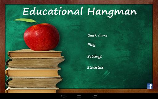 Educational Hangman in English 2.67 screenshots 7