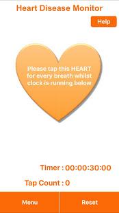 Cardalis Resting Respiratory Rate Monitoring App