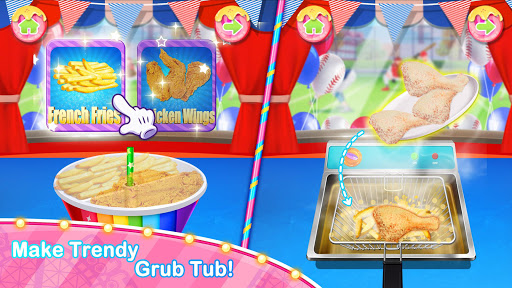 Unicorn Chef Carnival Fair Food: Games for Girls 2.0 screenshots 1