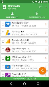 Uninstaller by Splend Apps v1.61 [Mod] 1