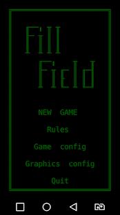 Schermata FillField