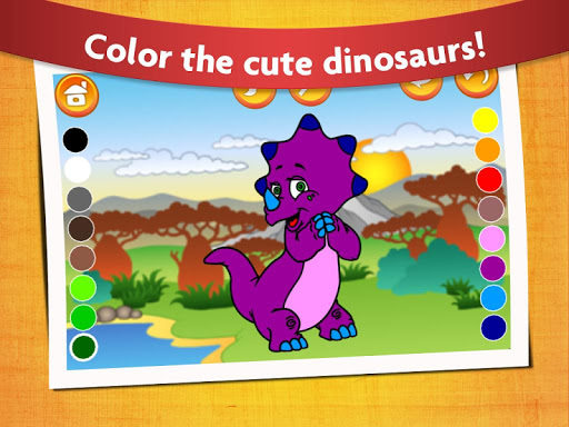Kids Dinosaur Coloring Pages - Free Dino Game filehippodl screenshot 3