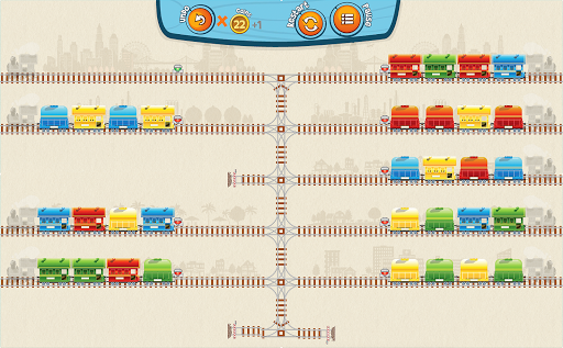 Train Mix - challenging puzzle apktreat screenshots 1