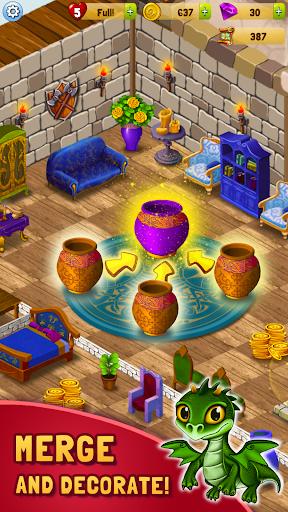 Merlin and Merge Mansion 1.0.8 screenshots 1