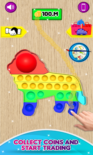 Fidget Trading! Pop it fidget toy 3d ASMR apkpoly screenshots 3