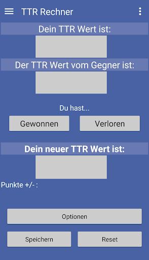 ttr rechner screenshot 1