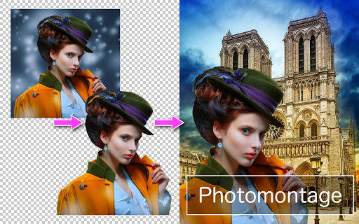 PhotoLayersu301cSuperimpose, Background Eraser 2.0.3 Screenshots 1
