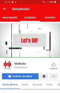 msRadio Screenshot