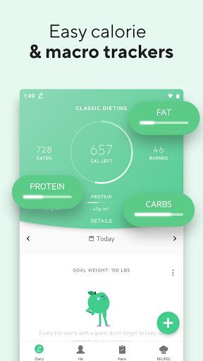 Lifesum - Diet Plan, Macro Calculator & Food Diary screen 2