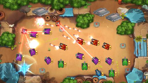 Tank Fun Heroes - Land Forces War screenshots 1