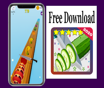 New : Fruit Cut Slicer 3D 2020 Hack for iOS and Android 4