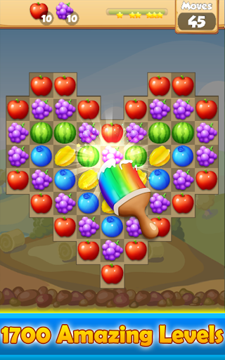 fruit pop party - match 3 game screenshot 1