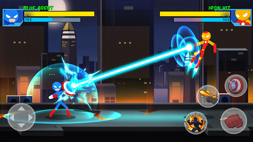 Stick Super: Hero - Strike Fight for heroes legend screenshots 1