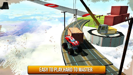 Impossible Monster Stunts: Autofahrspiele Screenshot