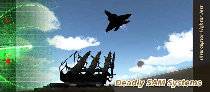 Air Scramble : Interceptor Fighter Jets Mod Apk