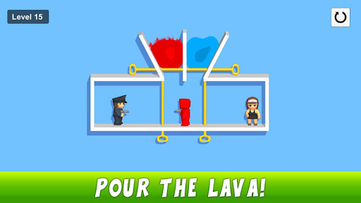 Pin pull puzzle games - Save the girl free games 1.10 screenshots 8