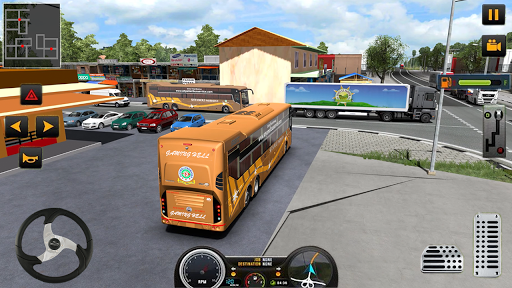 Modern Heavy Bus Coach: Public Transport Free Game 0.1 screenshots 5