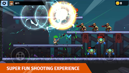 Auto Hero: Auto-fire platformer Mod Apk (God Mode) 5