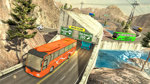 Modern Bus Drive :Hill Station  screenshots 3