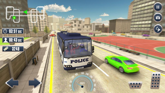 Prison Stickman Transport Police Van 1.6 screenshots 1