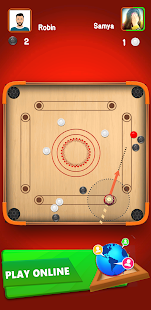 Carrom Star : Multiplayer Carrom board game 2.3 Screenshots 3