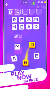 Word Hunter – Offline Word Puzzle Game 🇺🇸 3
