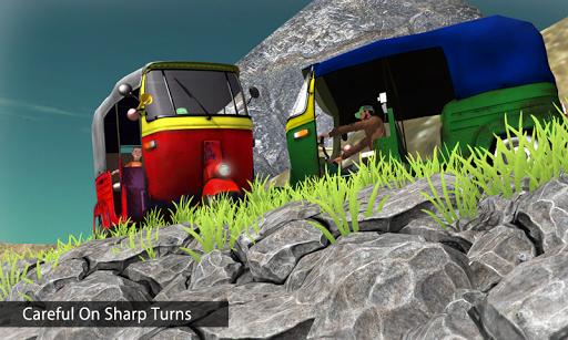 Tuk Tuk Auto Rickshaw Offroad Driving Games 2020 android2mod screenshots 3