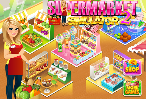 Supermarket Grocery Store Girl - Supermarket Games  screenshots 13