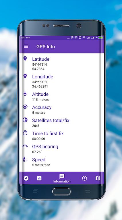 GPS info premium +glonass  poster 15