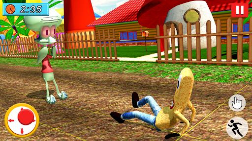 SPONGE FAMILY NEIGHBOR 2: SQUID ESCAPE 3D GAME 2.5 screenshots 4