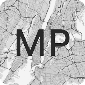 MapPaper Custom Map Wallpapers August Update by akhilsukh logo