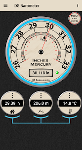 DS Barometer – Altimeter and Weather Information [PRO] APK 3