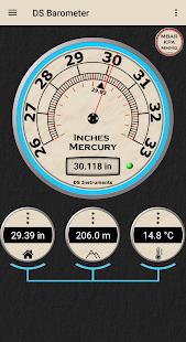 DS Barometer - Altimeter and Weather Information 3.78 Screenshots 3
