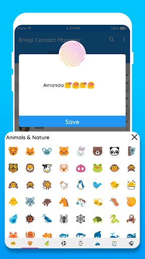 Emoji Contact: Contact Emoji Maker 3.16.01.2018 Screenshots 4