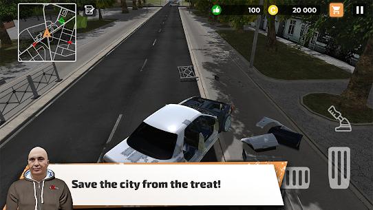 Big City Wheels – Courier Simulator Mod Apk 1.5 (Unlimited Money/Points) 6
