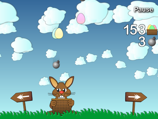 Rushing Bunny, help me to collect all the eggs screenshots 6