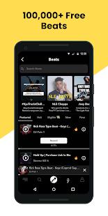 Rapchat ud83cudfa4  record music; beats; auto voice tune 6.9.3 Screenshots 3
