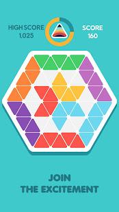 Trigon 1010! Triangle Block  Match Puzzle Game