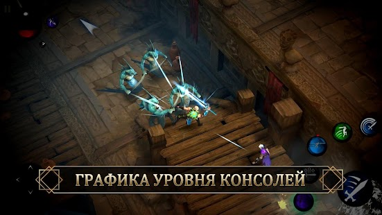 Blade Bound: Legendary Hack'n'Slash РПГ Action RPG Screenshot