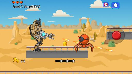 Desert T-Rex Robot Dino Army screenshots 4