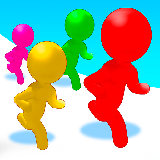 Color Run Stickman 3D