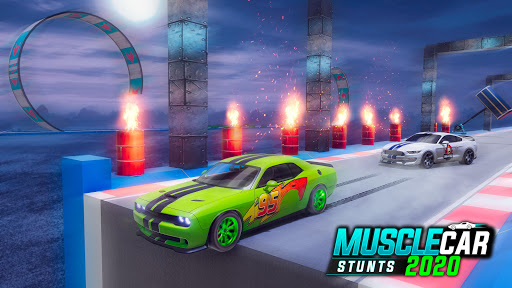 Muscle Car Stunts 2020: Mega Ramp Stunt Car Games 1.2.2 screenshots 13