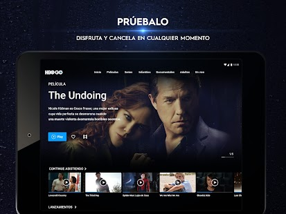 HBO GO ® Películas y series originales. Screenshot