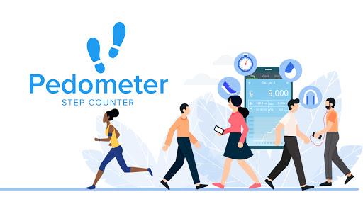 Pedometer - Free Step Counter App & Step Tracker 5.37 Screenshots 1