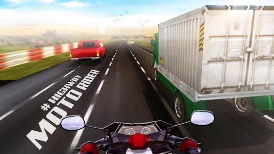 Highway Moto Rider – Traffic Race – Mod APK (Unlock All) 2