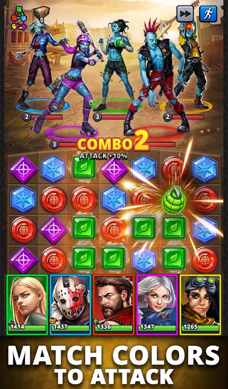 Puzzle Combat: Match-3 RPG poster 18