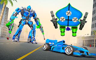KITE ROBOT TRANSFORMING FORMULA CAR RACING 3D GAME